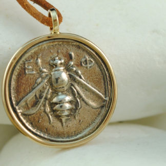 Artemis Greek Coin Pendant