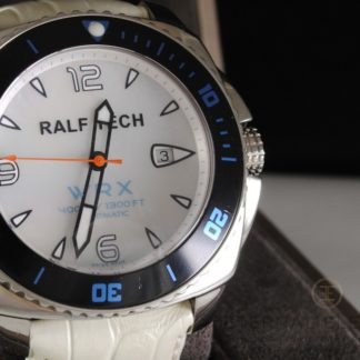 WRX Sunrise Explorer Steel, Mother of Pearl Dial, White Leather Strap, 400m, Automatic Watch