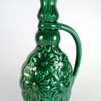 Vintage Decorative Ceramic Green Flower Vase