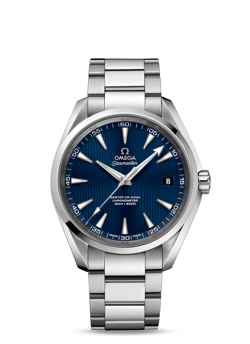 Omega seamaster aqua terra 150m master co axial sold eternal elegance for Omega watch seamaster