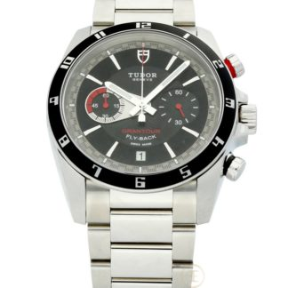 Tudor Grantour Fly-Back Chronograph Black Dial 20550N