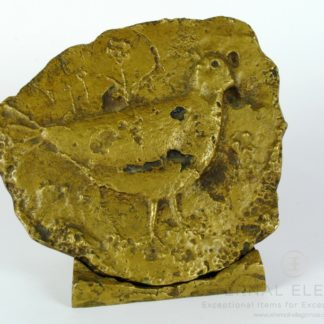 Original Spyros Katapodis Limited Edition Bronze Bird Sculpture