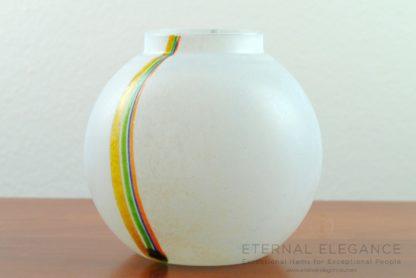 Kosta Boda 'Rainbow' 1960's Glass Decorative Vase, Bertil Vallien 48223
