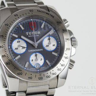 Tudor Sport Chrono 20300 Automatic Chronograph Grey Dial Stainless Steel Men's Watch