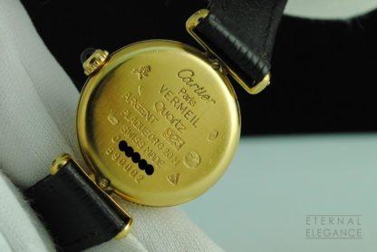 must de Cartier Ref. 590002 Vermeil Quartz Gold Plated .925 Silver Swiss Ladies Watch