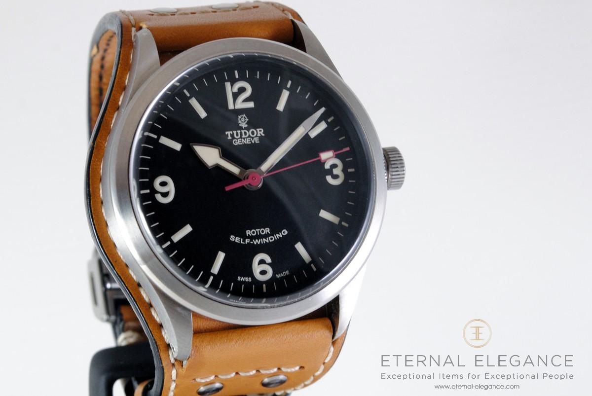 866edd3ba52 Tudor Heritage Ranger 79910 with Bund and Nato Strap • Eternal Elegance