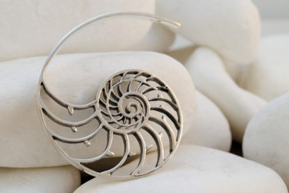 Nautilus Pendant in Sterling Silver by A.LeONDARAKIS