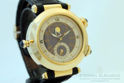 Cartier Pasha Moon Date Alarm