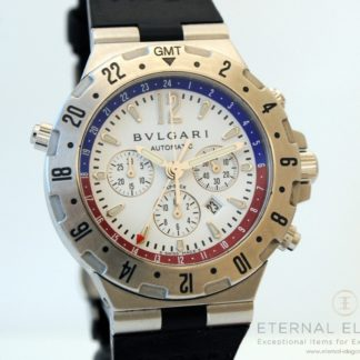 Bvlgari Diagono GMT Fly Back Chronograph GMT 40 SFB