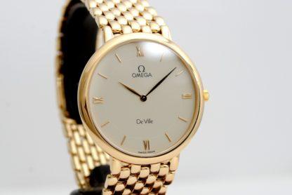 Omega DeVille 18k (0.750) Gold Vintage Wristwatch