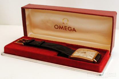 Original Omega Red Vintage Box