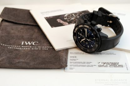 IWC Aquatimer Chronograph, Galapagos Islands Edition Ref. 3767. IWC Guarantee/Service Booklet, IWC Plastic Guarantee Card, IWC and the Charles Darwin Foundation Booklet